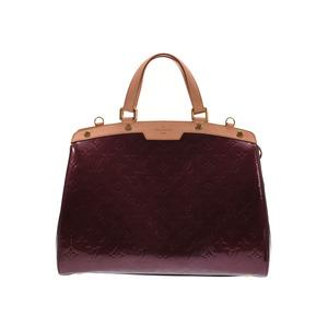 Louis Vuitton Vernis Blair GM Rouge Forvist M91689 Ladies Handbag AB Rank LOUIS VUITTON Used Ginzo