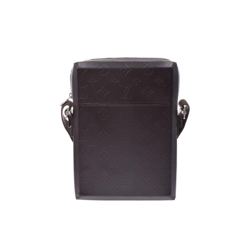 Louis Vuitton Glace Bobby M46520 Brown Men's Shoulder Bag AB Rank LOUIS VUITTON Used Ginzo