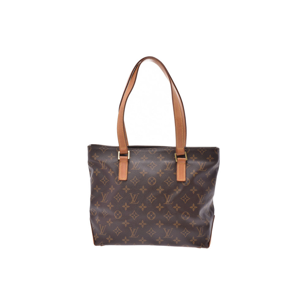 Louis Vuitton Monogram Hippo Piano Brown M51148 Ladies Genuine Leather Tote Bag B Rank LOUIS VUITTON Used Ginzo