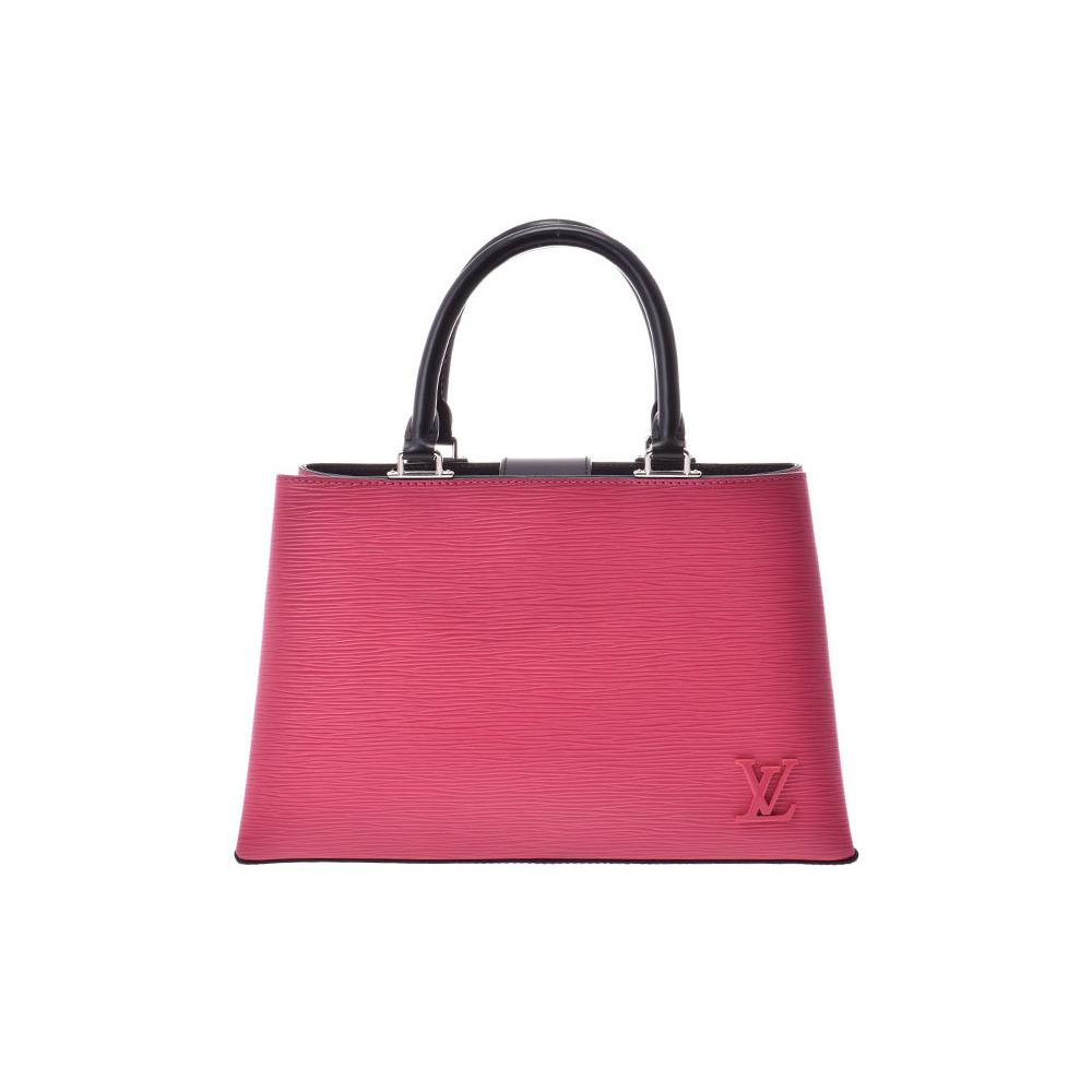 Louis Vuitton Epi Kleber PM Hot Pink M51347 Ladies Genuine Leather 2WAY Handbag