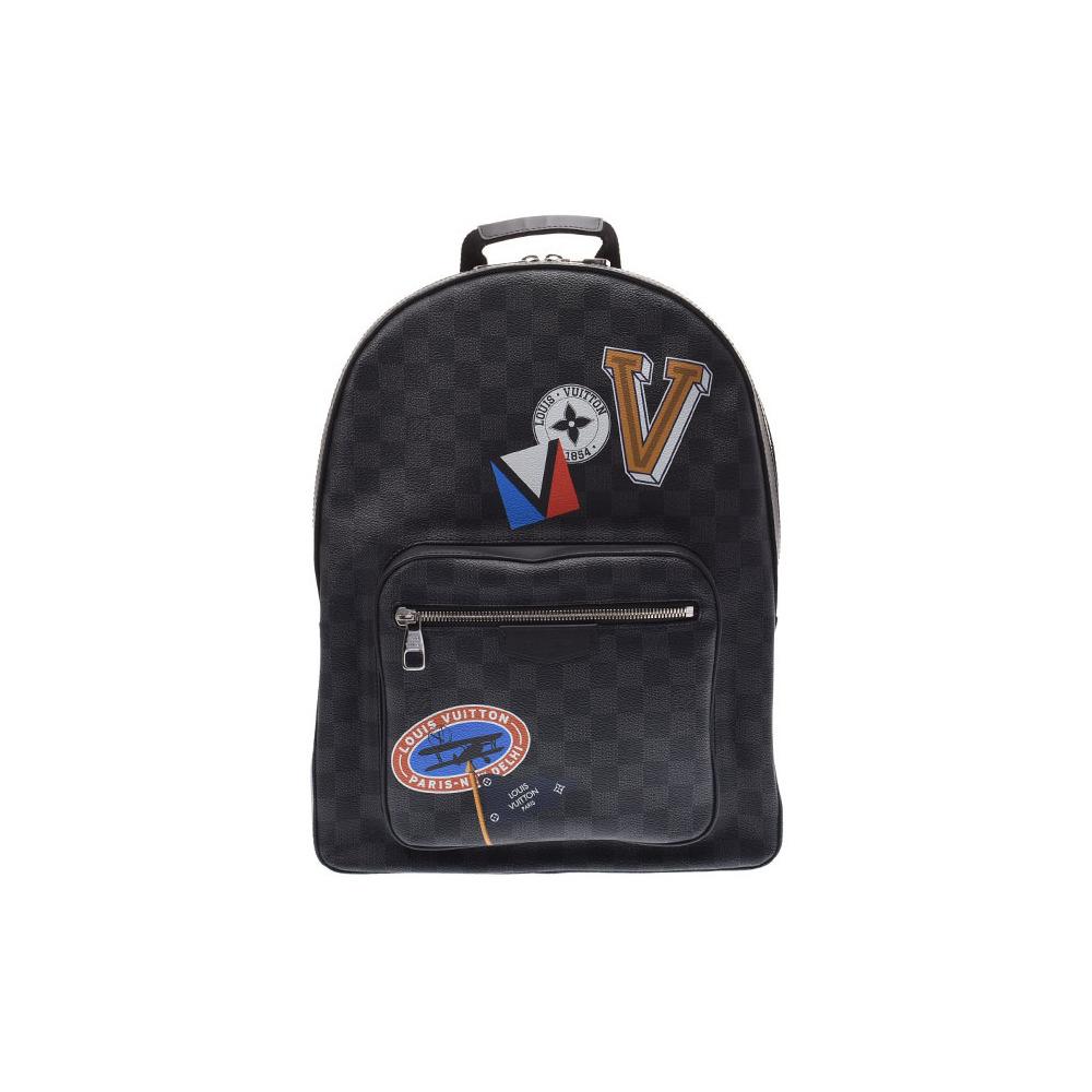 ルイ・ヴィトン (Louis Vuitton) グラフィット マルゼルブ N51379 メンズ 本革 バックパック リュック ABランク LOUIS VUITTON 中古 銀蔵