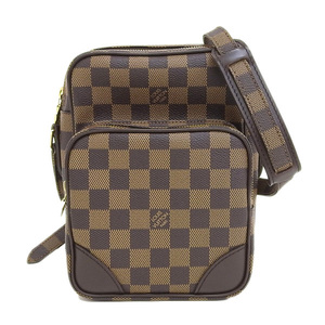 Genuine LOUIS VUITTON Louis Vuitton Damier Amazon Shoulder Bag SPO Leather