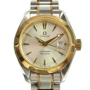 Genuine OMEGA Omega Seamaster Aquatera Ladies Quartz Wrist Watch Model: 2377.3