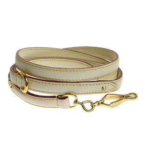 LOUIS VUITTON Louis Vuitton Reed Suhari Leather Baxter MM Bron White Bag