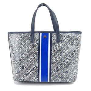 Genuine TORY BURCH Tory Burch PVC hand tote bag leather