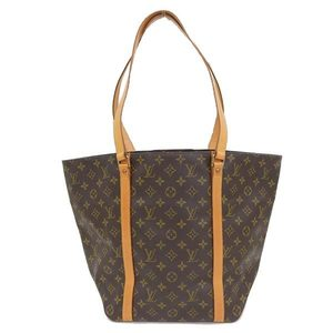 LOUIS VUITTON Louis Vuitton Monogram Shopping Bag Tote Leather