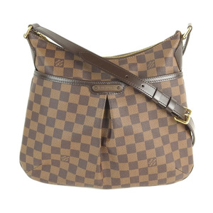 Genuine LOUIS VUITTON Louis Vuitton Damier Bloomsbury Shoulder Bag Leather