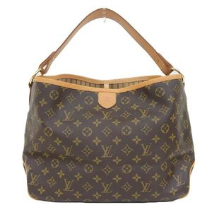Genuine LOUIS VUITTON Louis Vuitton Monogram Delight Full PM Model: M40352 Bag leather