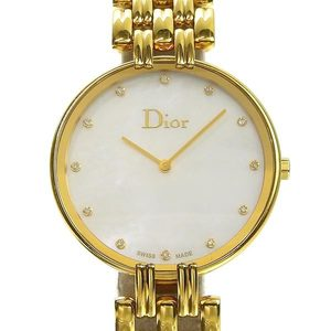 CHRISTIAN DIOR Dior Bagira 12PD Men's Quartz Watch Shell Dial CD094180