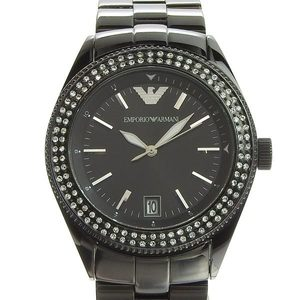 Genuine ARMANI Armani Rhinestone Men's Quartz Watch AR-5763