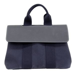 HERMES Hermes Valparaiso PM handbag 紺 black bag leather