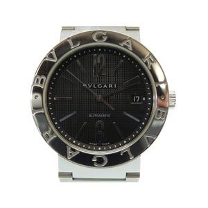 Bulgari Bulgari New Automatic Watch BB38SS Silver Black Dial 0012 BVLGARI Men