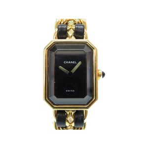 Chanel Premiere Quartz Watch Size L H0001 Gold 0058 CHANEL Ladies