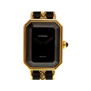Chanel Premiere H0001 Size L Ladies Quartz Watch Gold 0055 CHANEL