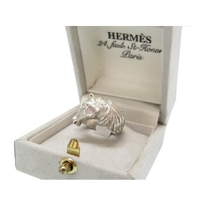 Hermes Silver 925 vintage hose ring antique gauge measurement 11 0063 HERMES