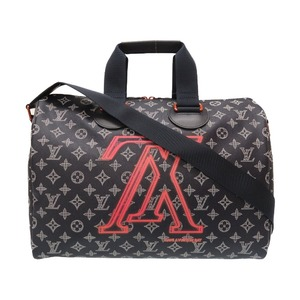 Louis Vuitton Monogram Ink Upside Down Speedy Band Liar 40 2018 Fall Winter Pre-collection M43697 Boston Bag LV 0030 LOUIS VUITTON