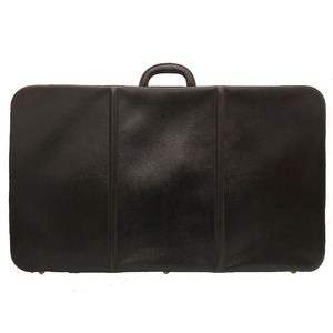 Hermes Antique Trunk Case Leather Black Vintage Bag 0033 HERMES Men