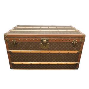 Louis Vuitton Monogram Marklier 90 M13230 Trunk Case Bag with Tray LV 0023 LOUIS VUITTON