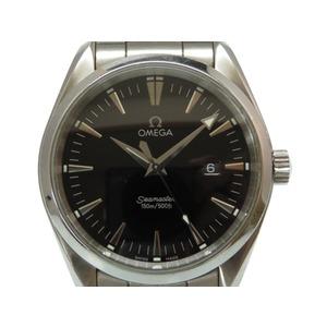 Omega Seamaster Aqua Terra Quartz Watch 2517.50 Black Dial 0014 OMEGA Men