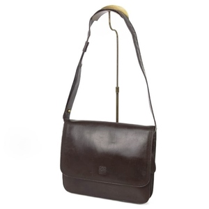 Loewe LOEWE Women's Shoulder Bag Leather Genuine 鞄 Brown Vintage
