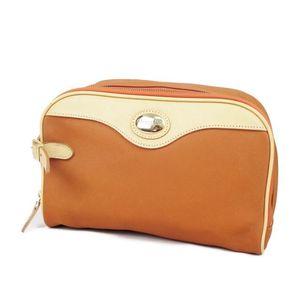Christian Dior SPORTS Second Bag Clutch Men's Orange Vintage