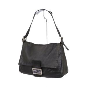 Fendi FENDI Made in Italy Mamma bucket Shoulder bag Leather Genuine leather Bag ダ ー ク Dark brown Ladies