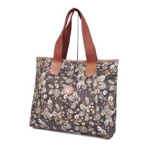 25378ecca8 Mario Valentino MARIO VALENTINO Floral Pattern Tote Handbag PVC Women  Italian Made Multicolor Vintage Women's Bag