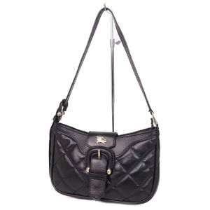 Burberry Prorsum BURBERRY PROSUM Women's Leather Quilted Mini Shoulder Bag Black Made in Italy