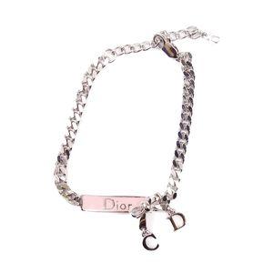 Christian Dior Ladies Bracelet Accessories Silver Vintage