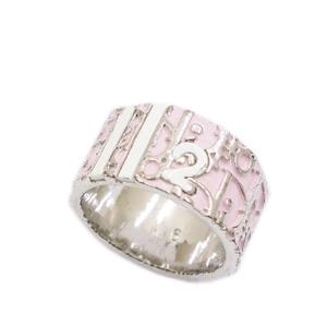 Christian Dior Christian Ladies Trotter Ring Pink Vintage