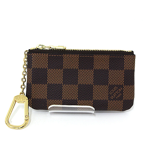 Louis Vuitton LOUIS VUITTON Pochette Clé Damier Ebene N 62658 S rank