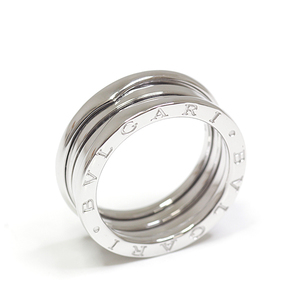 BVLGARI B zero one B-zero 1 3 band ring K18WG # 58 (actual size 17 issue) white gold 750WG finished