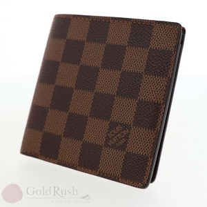 Louis Vuitton LOUIS VUITTON Damier Two-folded wallet Portofeil Mark N61675