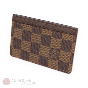 Louis Vuitton LOUIS VUITTON Damier Ebene Porte Cart ・ Sample Card Case Unused