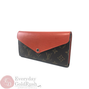 Louis Vuitton LOUIS VUITTON Marie Lou Ron M60499 Monogram Epi Purse Orange Pimon
