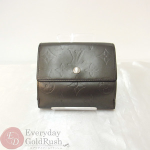 Louis Vuitton LOUIS VUITTON Monogram Matte Two-sided wallet Compact Portonet · Vie Carte Day M65112