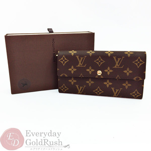 Louis Vuitton LOUIS VUITTON Monogram Folded Long Wallet Portofeuil Sala Old Model M61725