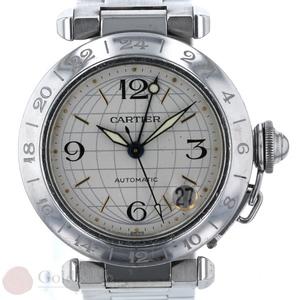 カルティエ CARTIER パシャC メリディアン W31055M7 2377 SS メンズ 腕時計 自動巻き iw pa