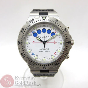 BVLGARI Bulgari Diagono Professional SD 40 S RE Chronograph Men's Watch Automatic Winding ku af