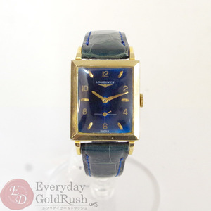 LONGINES Longines cal. 9LT Men's Watch Antique Hand-rolled Gold Small Seconds