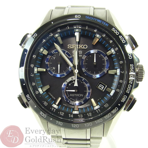 SEIKO Astron 8X82-0AN0-1 Solar Chronograph Men's Watch Popular