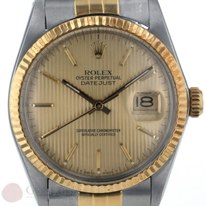 ROLEX DATEJUST 16013 Men's Watch 8th Tapestry Automatic Winding