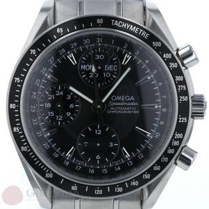 Omega OMEGA Speedmaster Day-Date Automatic 322.50 Self-winding Black Dial Men's Watch hon af