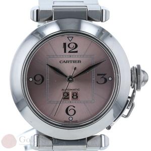 Cartier CARTIER Pasha du Big Date Automatic Watch SS iw pa