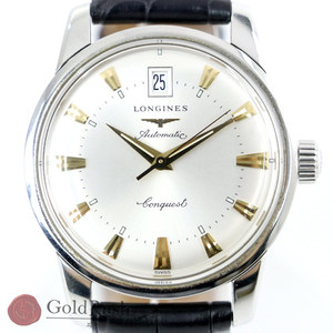 Longines LONGINES Conquest L16114 Self-winding Silver Dial Three-needle Men's Watch