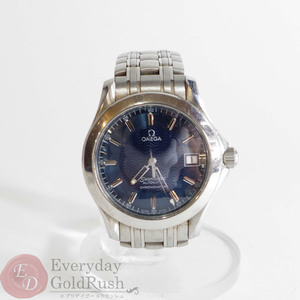 OMEGA Omega Seamaster 2501.81 Automatic winding navy date function men's watch sa pa