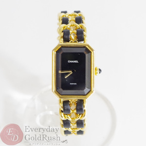 CHANEL Premiere Quartz Black Dial Women's Watch