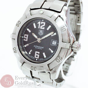 Tag Heuer TAGHEUER Ladies Quartz Watch Exclusive 2000 Series WN1315 Black Dial