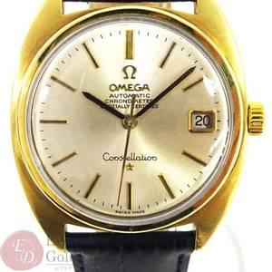 OMEGA Omega 168.017 Constellation Cal. 564 Hand-wound SS External Belt Men's Watch
