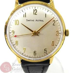 SMITHS Smith ASTRAL Astral Hand-Wounded Watch K9 Case Engraved Mens Name